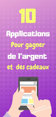 application pour gagner de largent via Internet)