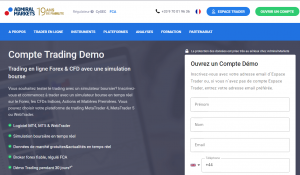 Compte trading démo