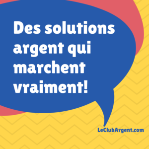 Jai besoin dargent pour gagner