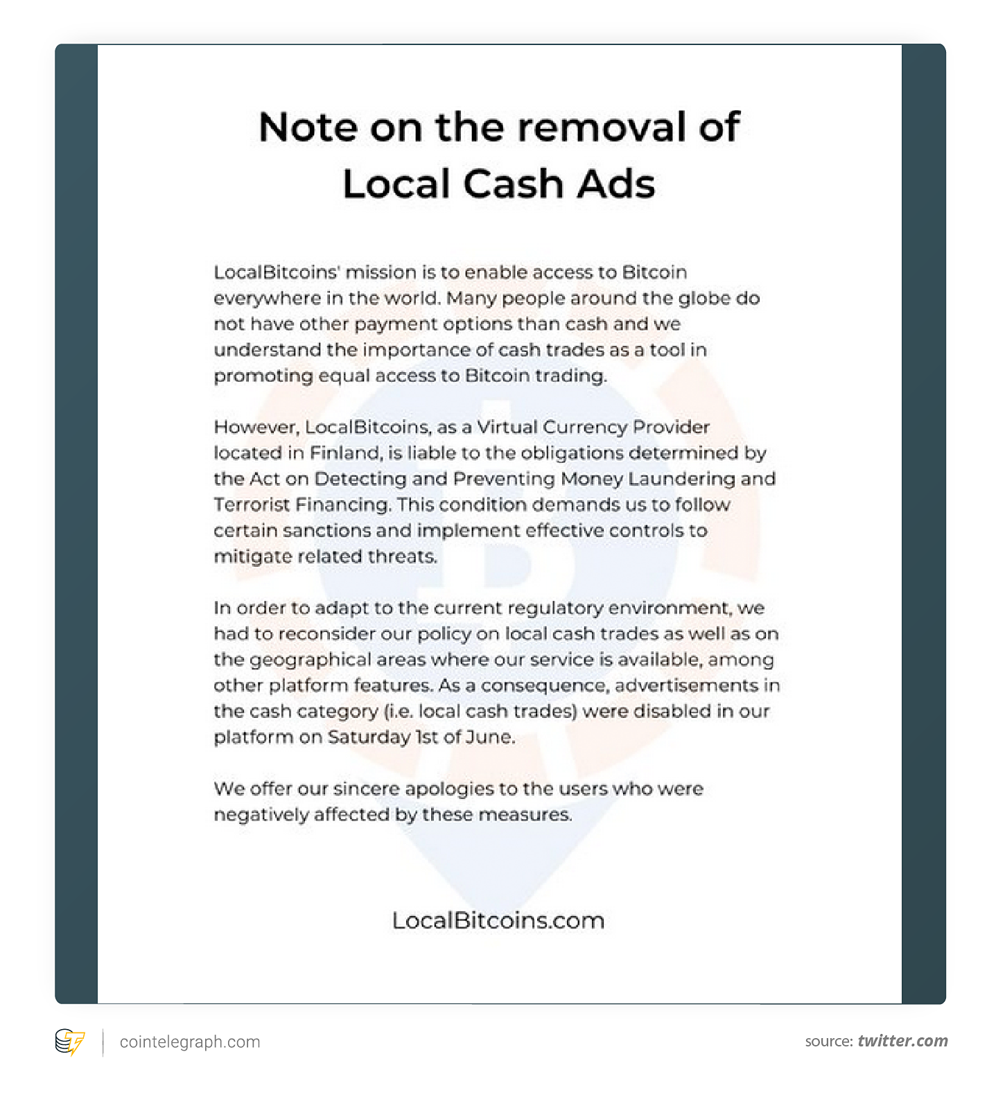 bitcoin local non
