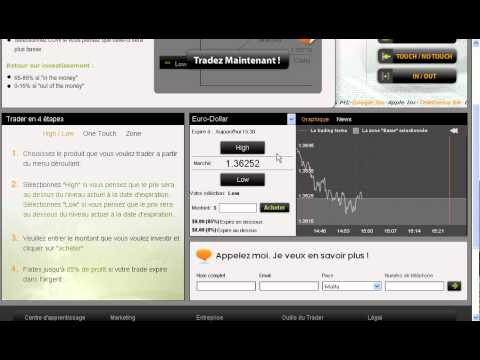 Trader doptions binaires youtube trading options binaires