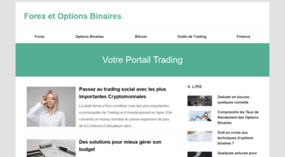 options binaires pour mieux trader)