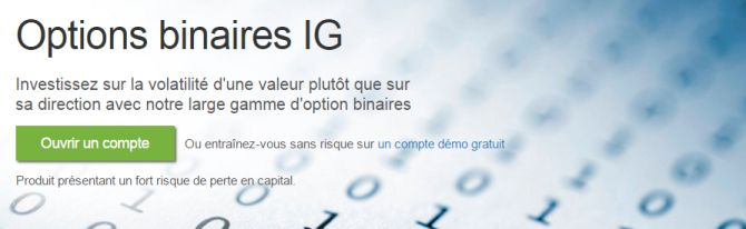 ig options binaires
