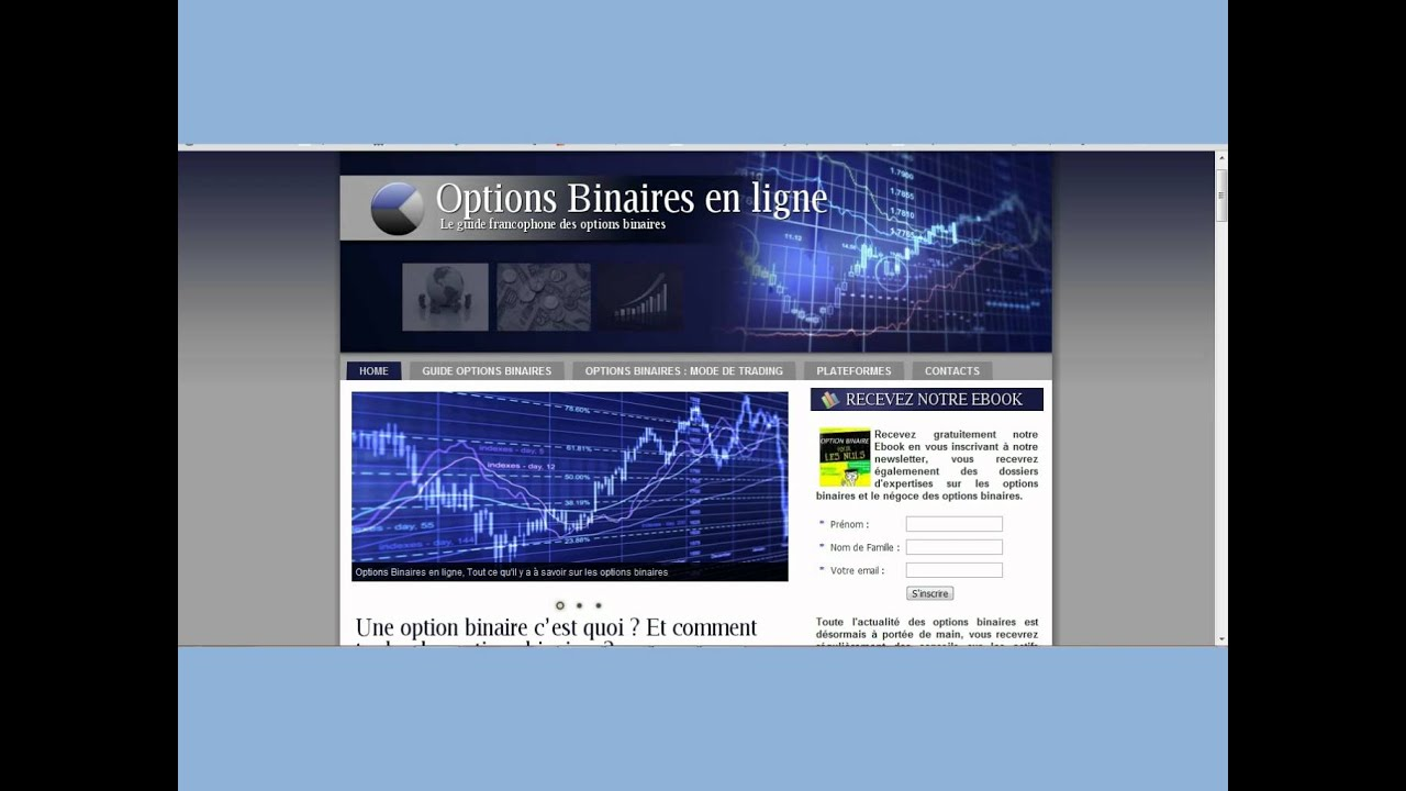 guide des indicateurs pour le trading doptions