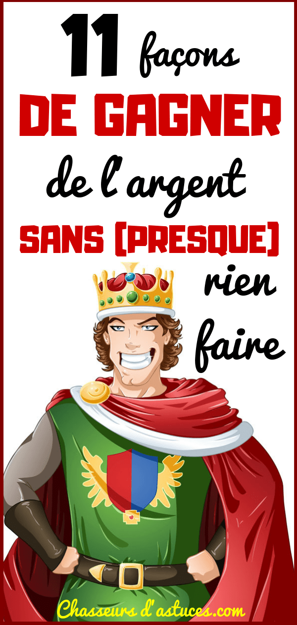 comment font-ils de largent? gains officiels sur Internet sans investissements