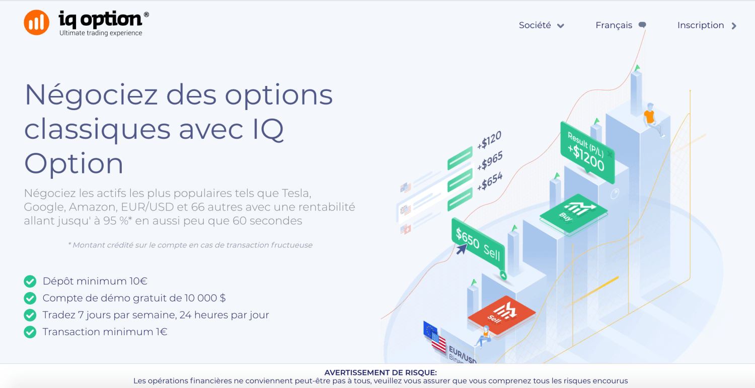 Les brokers d'options binaires
